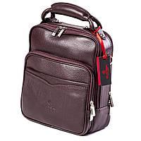 Мужская сумка кожаная коричневая Eminsa 6006-12-3, фото 1