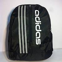 Рюкзак спортивный Adidas, Адидас черный с белой надписью