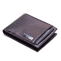 Мужской кошелек кожаный черный Karya 0911-076, фото 1