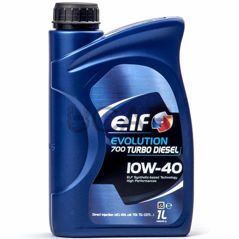 ELF 10w-40 Evolution 700 Turbo Diesel 1л Масло моторне