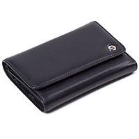 Женский кошелек кожаный черный Eminsa 2055-12-1, фото 1