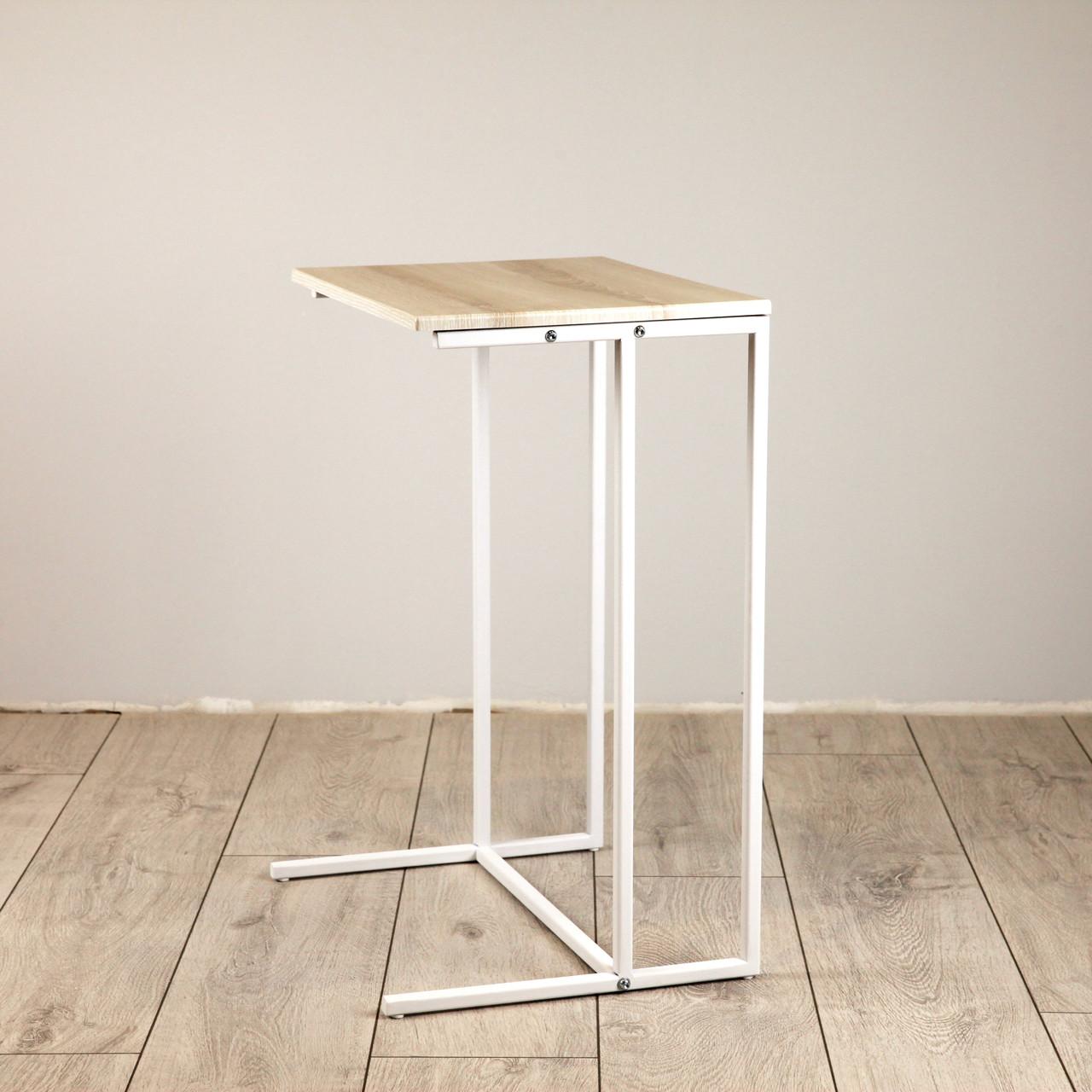 Стол приставной для предметов комфорта и IT-техники Commus Comfort A440 pepel/white