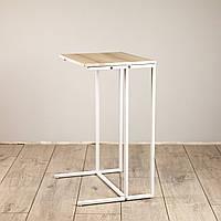 Стол приставной для предметов комфорта и IT-техники Commus Comfort A440 pepel/white, фото 1