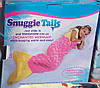 Плед Snuggie Tails Хвост русалки для детей