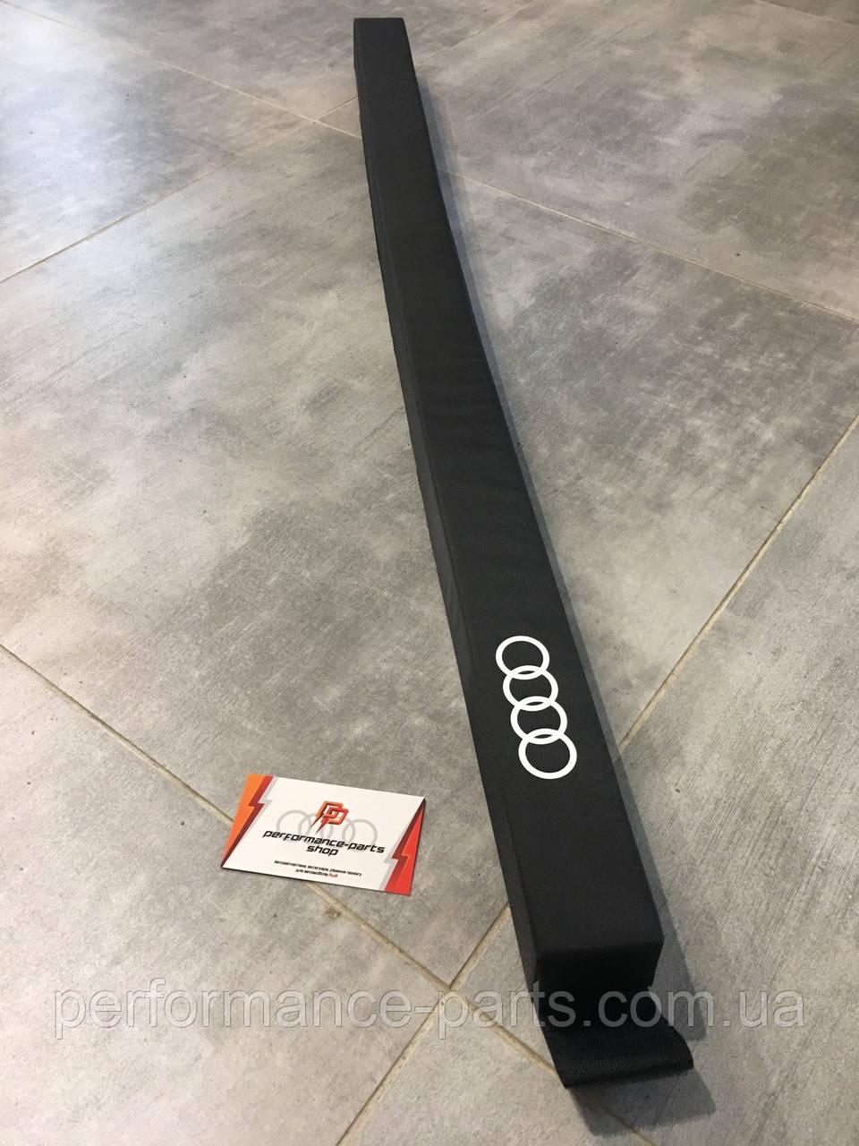 Разделитель гибкий универсальный AUDI, 8U0017238. Оригинал. Черного цвета.
