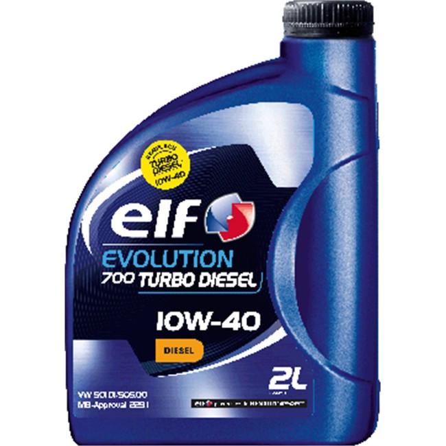 ELF 10w-40 Evolution 700 Turbo Diesel 2л