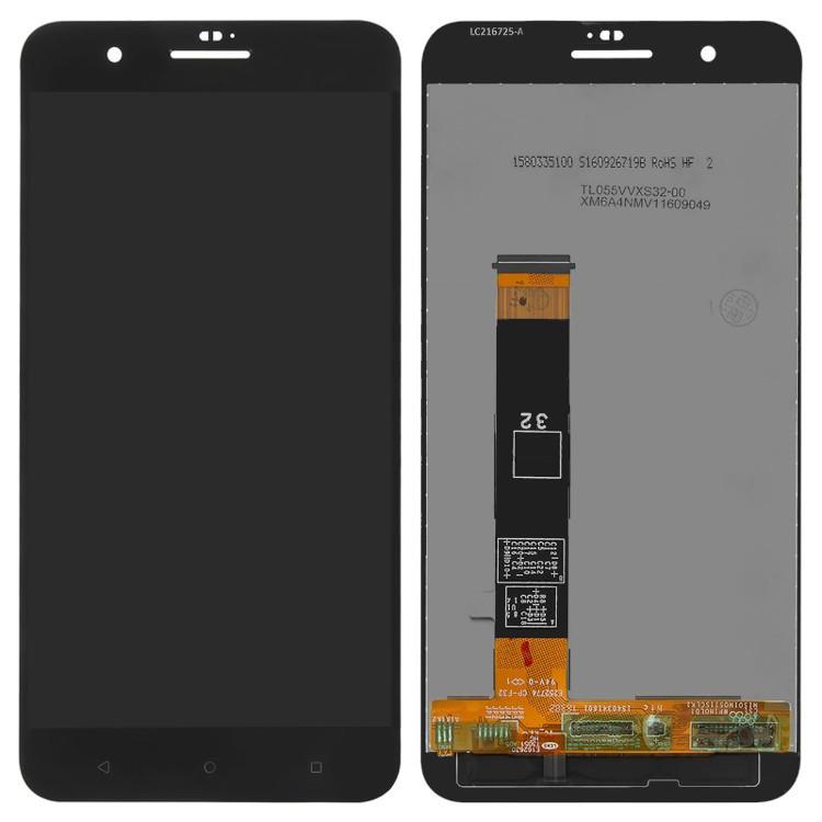 Дисплей для HTC One X10 с тачскрином черный Оригинал