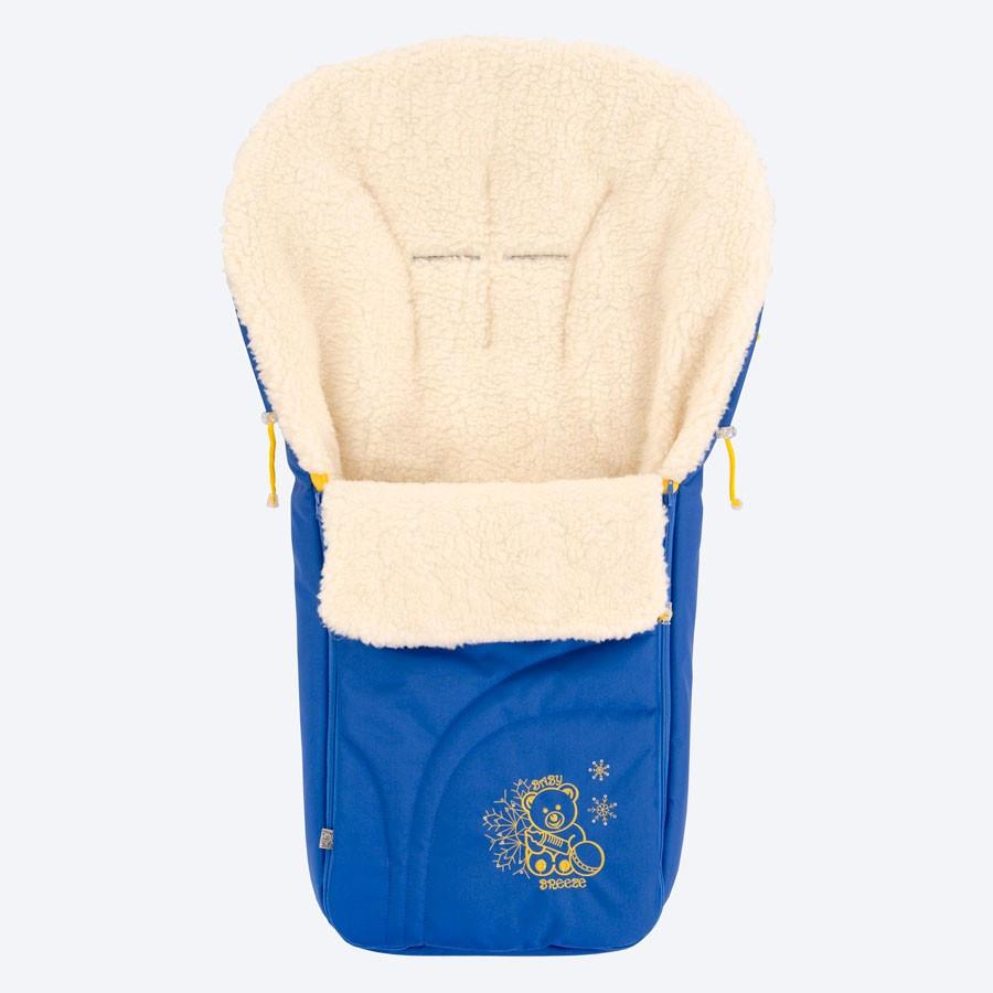Конверт Baby Breeze сине-желтый 0304-420