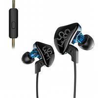 Внутриканальные гибридные Hi-Fi наушники KZ ES3  проводные вакуумные с микрофоном и с шумоподавлением Оригинал