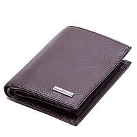 Мужское портмоне Karya 0932-39 кожаное коричневое, фото 1