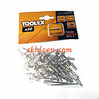 Заклёпка 4х6,4мм Toolex 15E400
