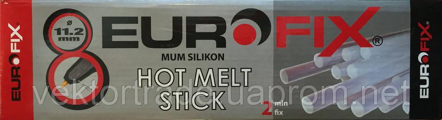 Термоклей (мум силикон) EUROFIX  d11.2мм 1кг (33шт.), фото 2