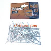 Заклёпка 4.8х14.5мм Toolex 15E504