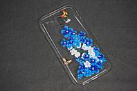 Чехол бампер силиконовый для Samsung Galaxy J330 J3 (2017) ( Самсунг ) с рисунок