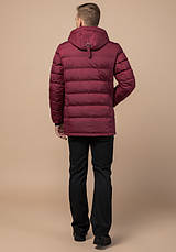 Braggart 'Aggressive' 11726 | Куртка зимняя бордовая, фото 3