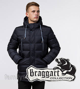 Braggart 'Aggressive' 11726 | Куртка зимняя т-синяя, фото 2