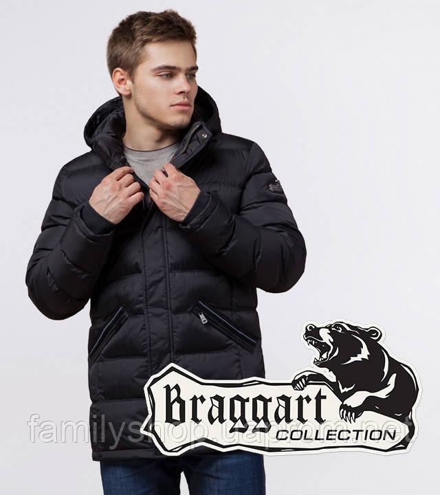 Braggart 'Aggressive' 13542   Мужская зимняя куртка черная