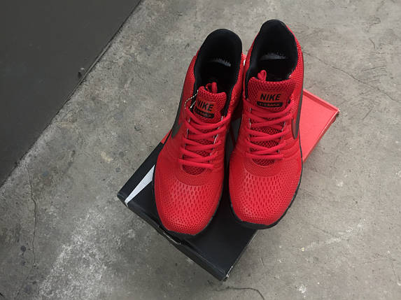 Мужские кроссовки Max 2017 (красные), фото 2