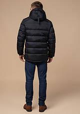 Braggart 'Aggressive' 10168 | Зимняя куртка мужская черный-красный, фото 3