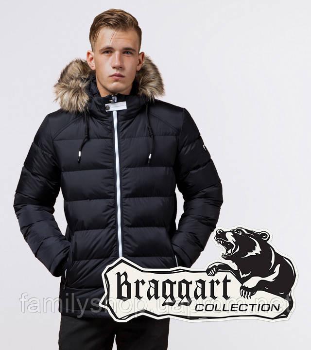 Braggart 'Aggressive' 38268 | Куртка зимняя т-синий-белый