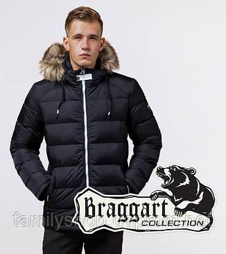 Braggart 'Aggressive' 38268 | Куртка зимняя т-синий-белый, фото 2