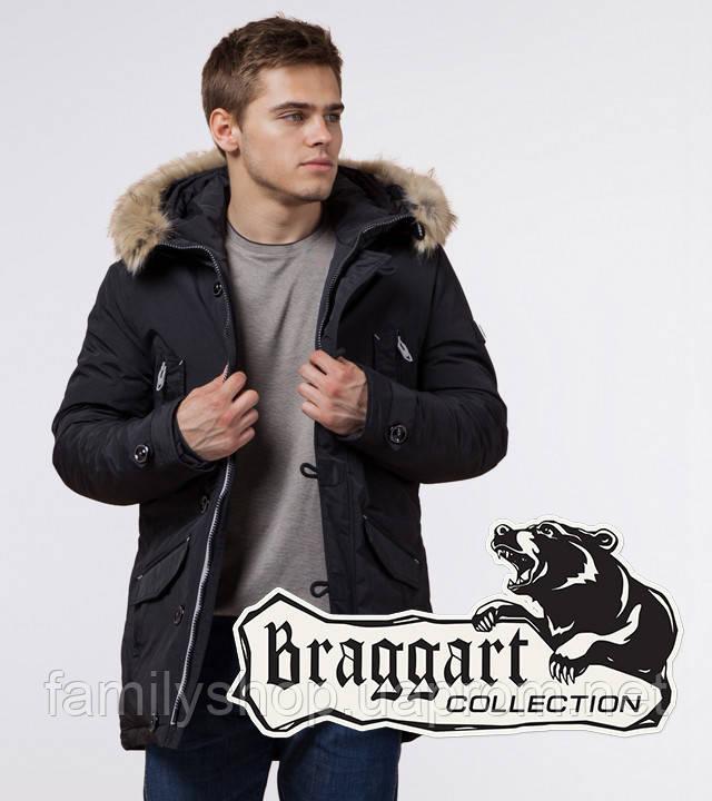 Braggart - Arctic 38230   Парка зимняя черный-серый