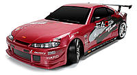 Дрифт 1:10 Team Magic E4D Nissan S15 (красный), фото 1