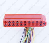 Разъем электрический 21-о контактный (64-12) б/у