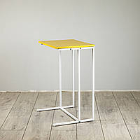Стол приставной для предметов комфорта и IT-техники Commus Comfort A440 yellow/white