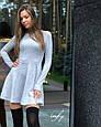 Трикотажное платье колокольчик, фото 3