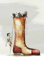 """Листівка """"Кіт у чоботях"""""""