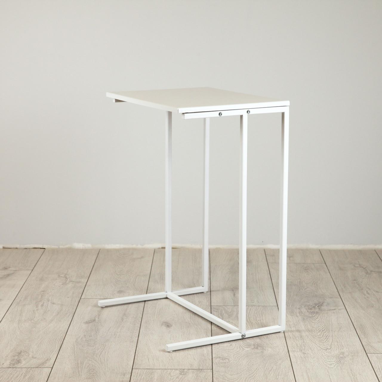 Стіл приставний предметів для комфорту та IT-техніки Commus Comfort A440 white/white