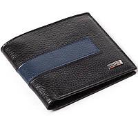 Мужской кошелек кожаный черный BUTUN 118-004-030, фото 1