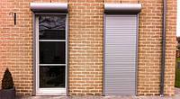 Защитные ролеты ( рольставни )  на дверь