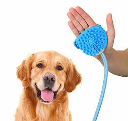 Рукавиця для миття тварин Aquapaw з шлангом на 2.6 метра