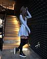 Теплое трикотажное платье, фото 3