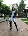 Теплое трикотажное платье, фото 4