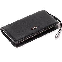 Клатч BUTUN 096-004-001 кожаный черный
