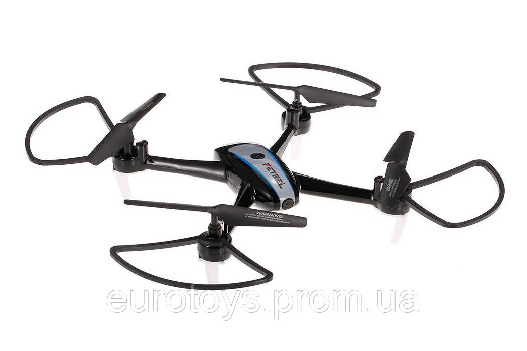 Квадрокоптер Helicute H820HW PETREL с камерой Wi-Fi и барометром(чёрный)