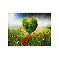 Картина по номерам ДЕРЕВО-СЕРДЦЕ 40х50 см