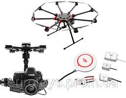 Октокоптер DJI S1000Plus + полетный контроллер A2 + подвес Z15-5D