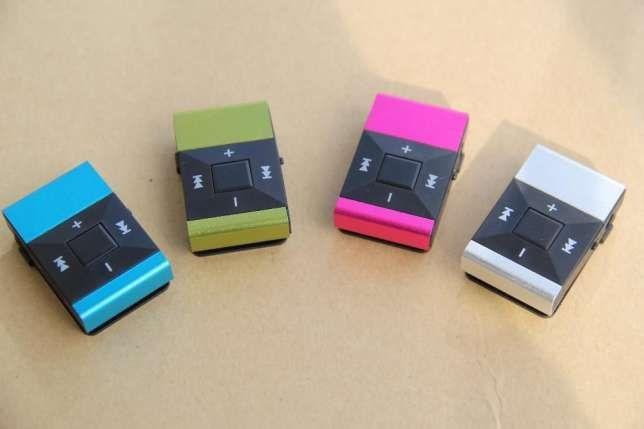 MP3 плеер алюминевый, USB зарядное+Наушники +Упаковка