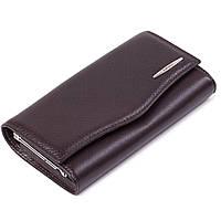 Женский кошелек кожаный коричневый Eminsa 2023-12-3