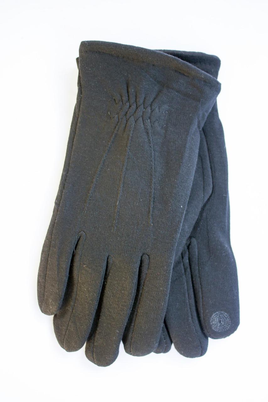 Мужские зимние перчатки + кролик  Сенсорные