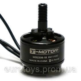 Мотор T-Motor MS2208-18 KV1100 2-3S 110W для мультикоптеров