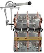 Рубильник переключатель ПЦ 100 правый смещенный привод