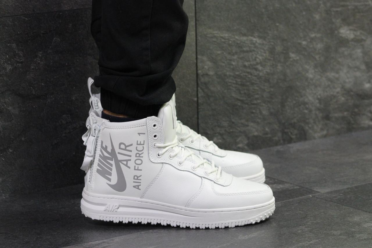f8cc38b1 Женские утепленные кроссовки в стиле Nike Air Force. Код товара Д - 6405.  Бордовые
