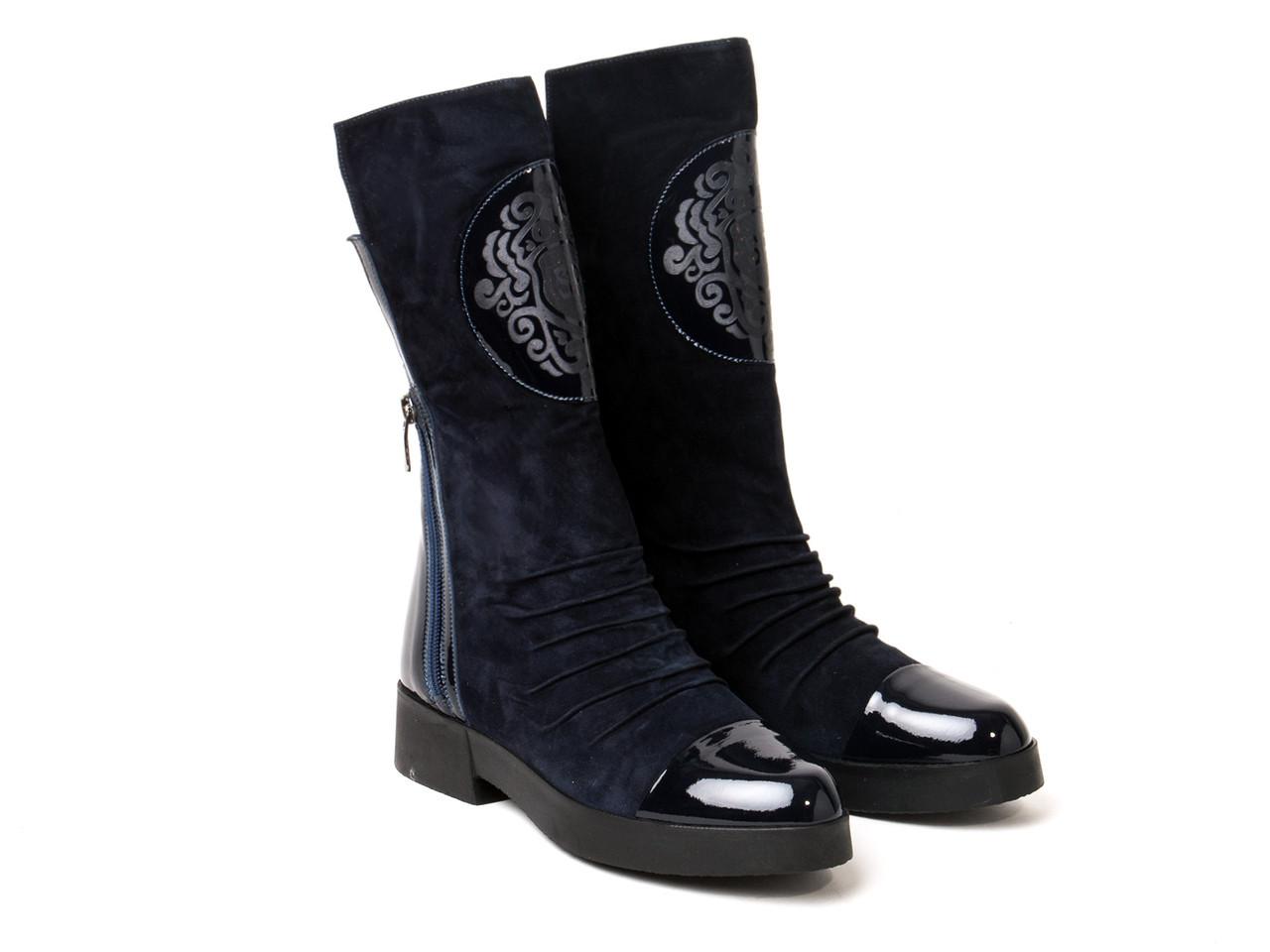 Ботинки Etor 4987-7235 36 синие