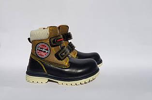 Зимові черевики для хлопчика Clibee (Польща),на хутрі