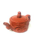Исинский чайник из натуральной глины 150мл, фото 1